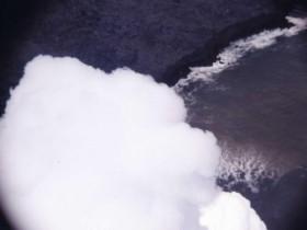 アラスカ噴火