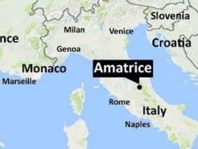 イタリア中部でM6.2の地震。